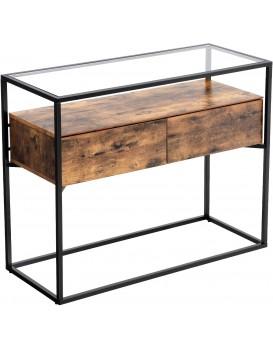 Konferenční stolek VASAGLE Indio hnědý