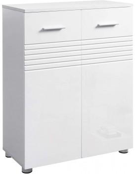 Skříňka do koupelny VASAGLE GEORG bílá