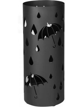 Stojan na deštníky Terra černý