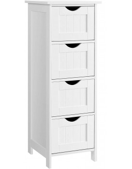 Koupelnová skříňka LEANNE bílá