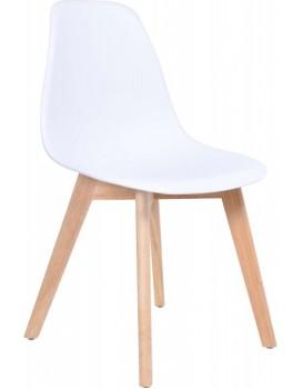 Jídelní židle  Asti - bílá