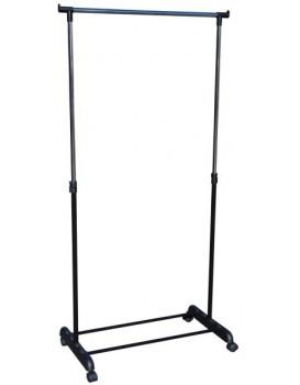 Pojízdný stojan na oděvy Ida - výška 90-159 cm