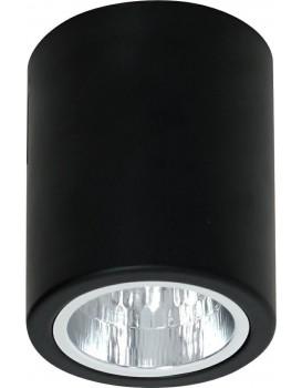 Stropní svítidlo Downlight round 12,5 cm černé