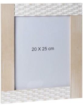 Obdélníkový nástěnný rámeček 20x25 cm - hnědá