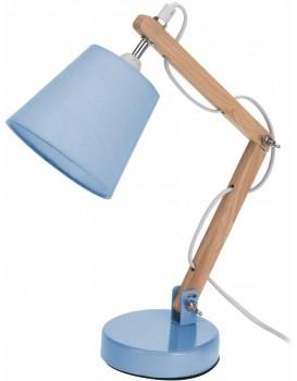 Stolní lampička se stínidlem- modrá