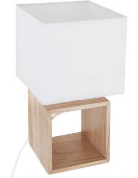 Noční lampa Pojo čtvercová 32 cm