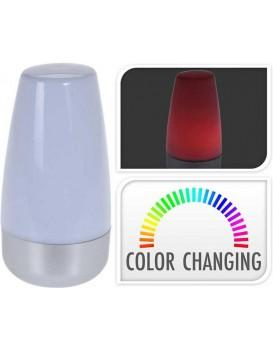 Noční LED lampa bílá 15 cm + multicolor