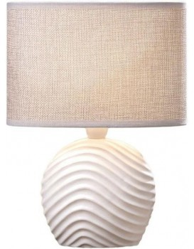 Stolní lampa Cathy šedá