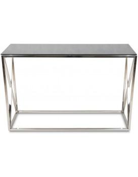 Konzolový stůl Nejla stříbrný