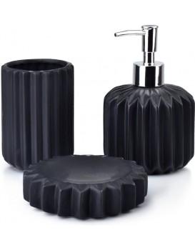 Sada koupelnových doplňků Ferra černá