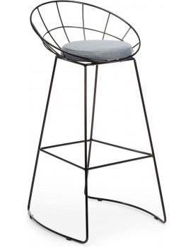Barová stolička Shibo černá