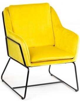 Křeslo Stella žluté