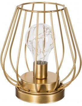 Drátěná LED lampa s žárovkou 17 cm