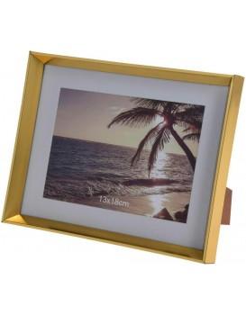 Stojící fotorámeček Carrie 13x18 cm zlatý