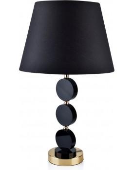 Noční lampa Chantal Black 56 cm