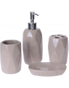 Sada koupelnových doplňků Dolomit béžová