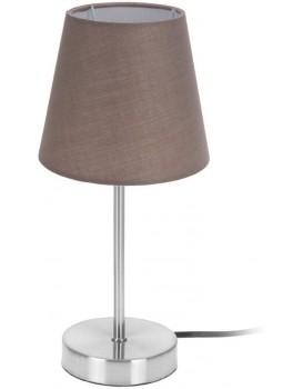 Noční lampa stolní kovová 29,5 cm hnědá