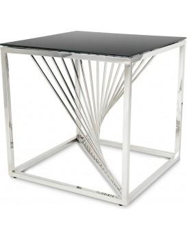 Konferenční stolek LAINE malý stříbrný