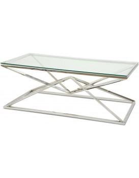 Konferenční stolek Diamanto Silver 2