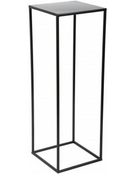 Květinový stojan Charr 70 cm černý