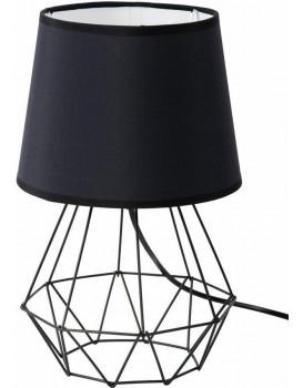 Stolní lampa Diamond se stínidlem- ČERNÁ