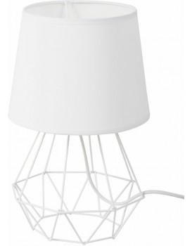 Stolní lampa DIAMENT 2v1 bílá