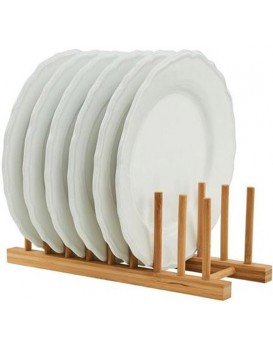 Stojan na talíře, bambusový organizér