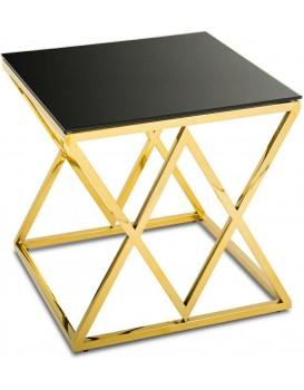 Konferenční stolek Diamant Gold Black