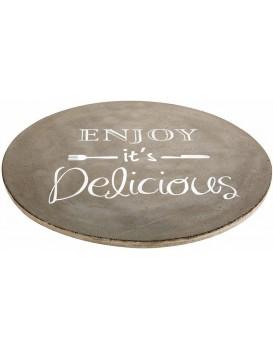 Deska na servírování Enjoy Delicious šedá