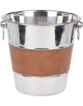 Chladič nápojů stříbrný