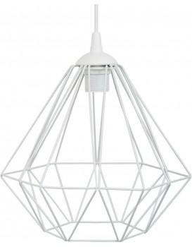 Stropní svítidlo Diamond 25 cm bílé