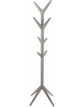 Dřevěný věšák Jess 178 cm šedý