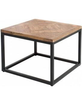 Konferenční stolek Oweda 60 cm černý
