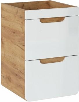 Umyvadlová skříňka ARUBA 40 cm dub artisan/bílá