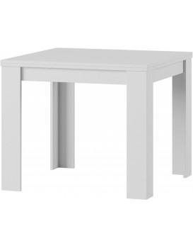 Rozkládací stůl Saturn 90-160x90 cm bílý