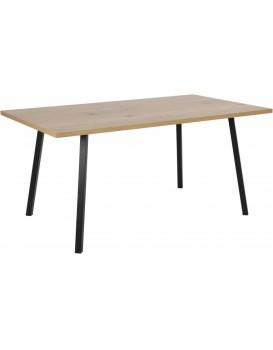 Jídelní stůl Cenny divoký dub/černá