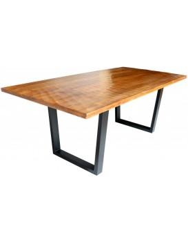 Dřevěný jídelní stůl Scorpion 200x100 cm hnědý
