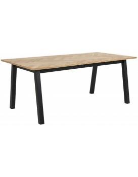 Jídelní stůl Brighton dub/černá