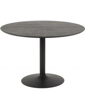 Kulatý barový stůl Ibiza I černý
