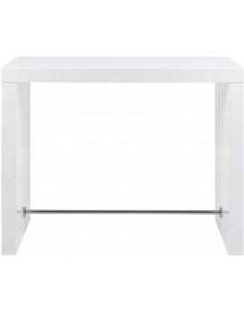 Barový stůl Bloter 130x60 cm bílý