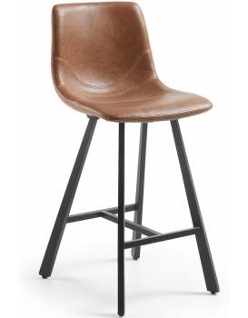 Barová židle Trac I hnědá/černá