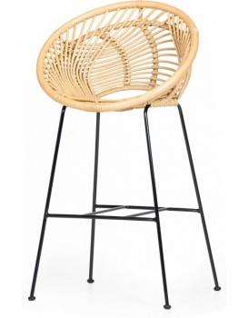 Ratanová barová židle Sumba boho