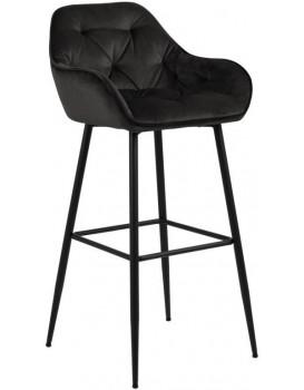 Barová židle Brooke šedo/hnědá