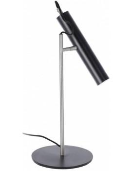 Stolní lampa Maude černá/stříbrná