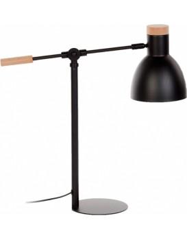 Stolní lampa Tescarle černá