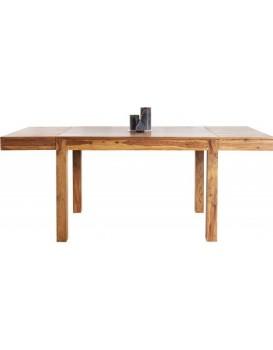 Rozkládací stůl Laros 120-200x80 cm hnědý