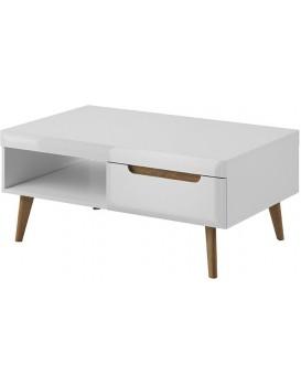 Konferenční stolek BORDI bílý