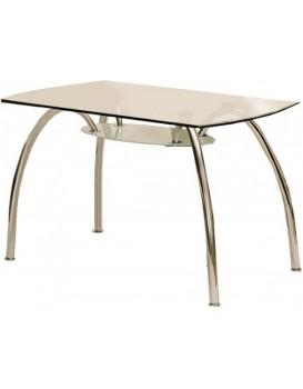 Skleněný stůl Corwin Bis chrom