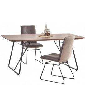 Rozkládací jídelní stůl Berin I 160-200x90 cm ořech