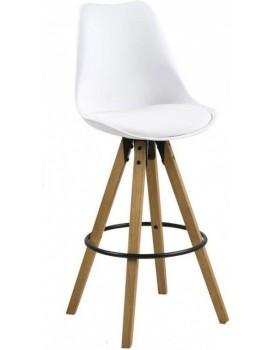 Barová židle Dima bílá